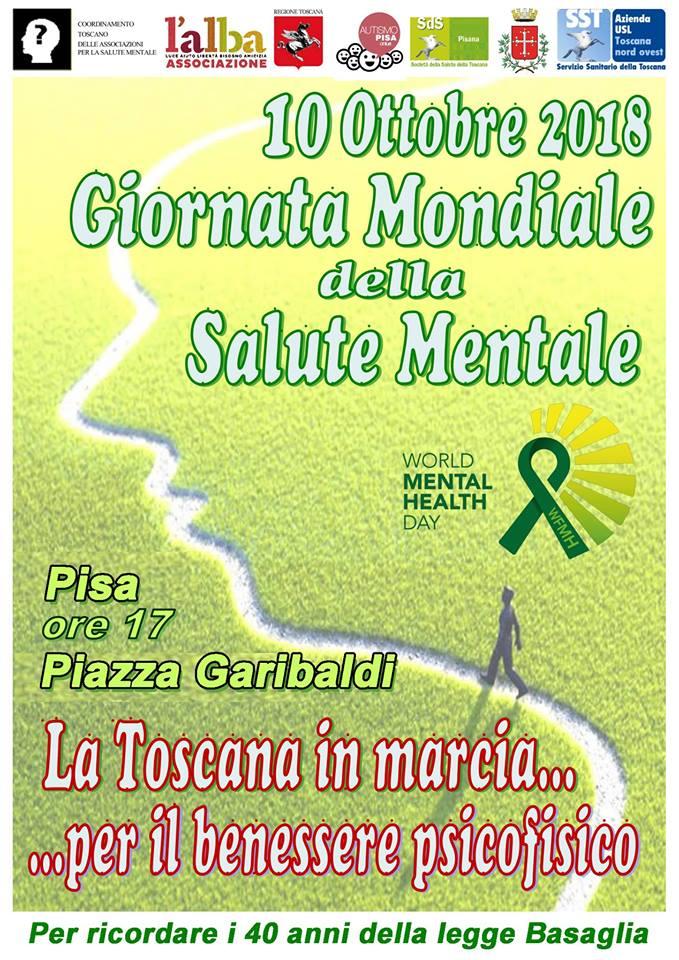 In Marcia Per La Giornata Mondiale Della Salute Mentale